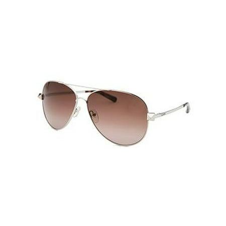 Valentino Women's Aviator Silver-Tone (Valentino Sunglasses Sale)