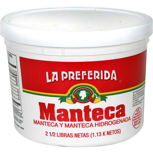 La Preferida Lard, 2.5 lb (Pack of 12)