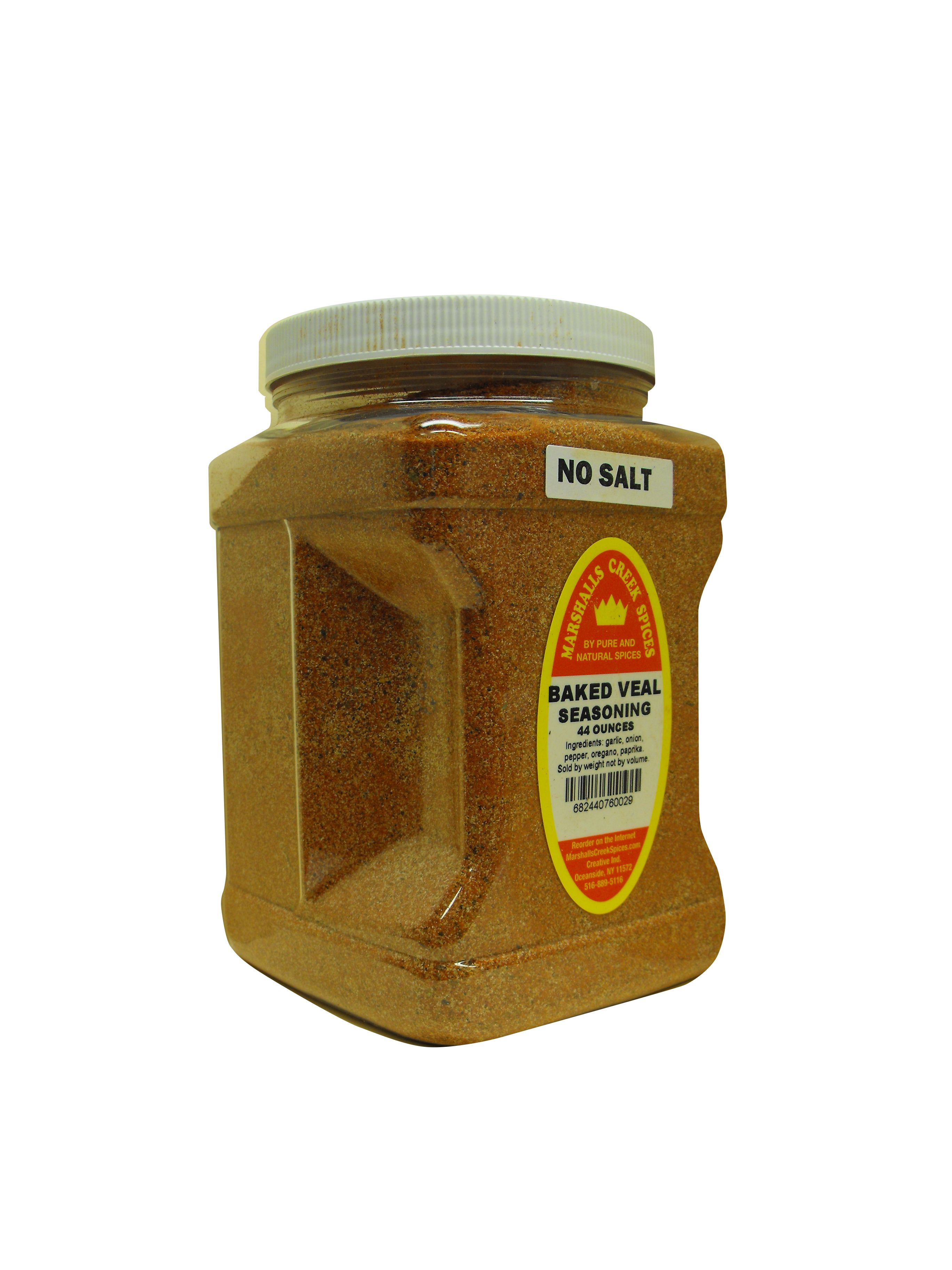 Family Size Marshalls Creek Spices Baked Veal No salt Seasoning, 44 Ounce by