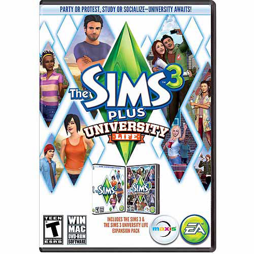 The Sims 3 University Life (PC/Mac) (Digital Code)