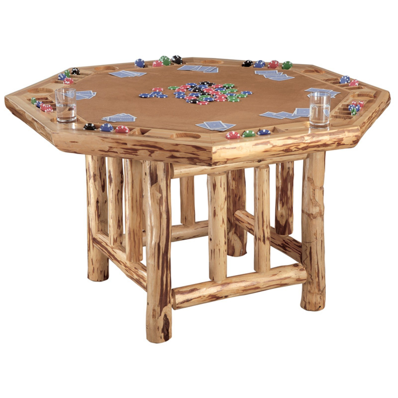 Octogon Poker Table