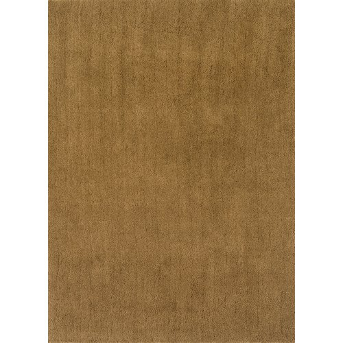 Continental Rug Company Cloud Gold Shag Area Rug