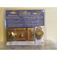 220-53-51 Night Latch Rose Gold, By Kaba Ilco