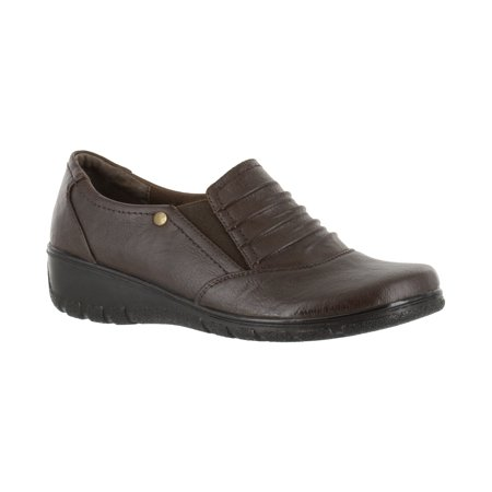 women's easy street proctor slip - Medium Brown Patent Footwear
