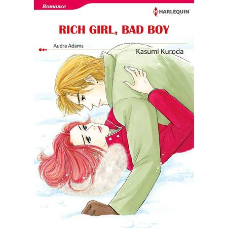 Comic Book Girl Halloween (RICH GIRL, BAD BOY (Harlequin Comics) -)