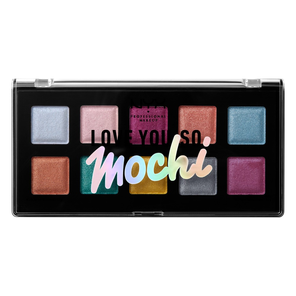 NYX Professional Makeup Love You So Mochi Eyeshadow Palette Electric Pastels - 0.47oz