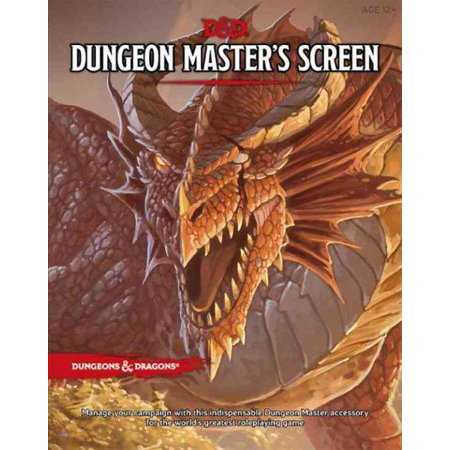 D Dungeon Master's Screen