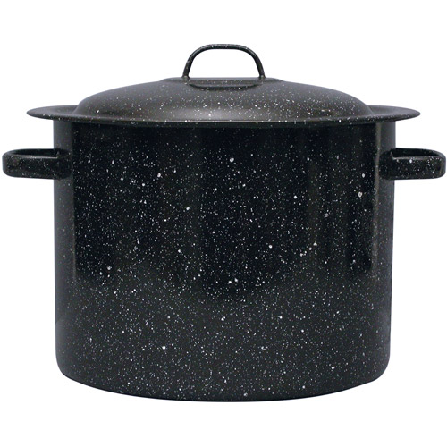 Granite Wear 12-Quart Stock Pot with Lid