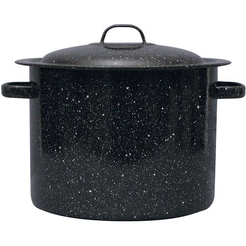 Granite Wear 12-Quart Stock Pot with Lid