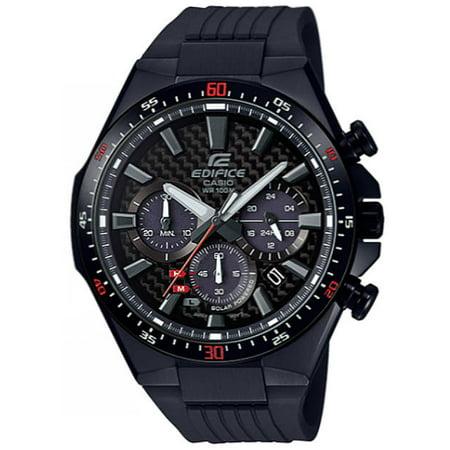 Men's Casio Edifice Solar Power Chronograph Watch EQS800CPB-1AV EQS-800CPB-1A