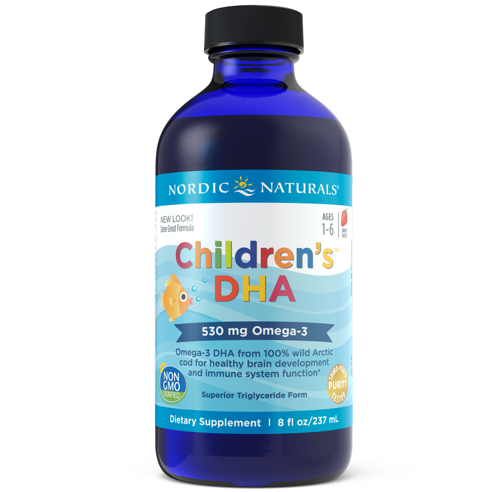 Nordic Naturals Children's DHA Liquid, 530 Mg, 8 Oz