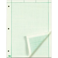 TOPS, TOP35500, Green Tint Engineering Computation Pad - Letter