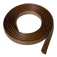 InstaTrim 3/4 In Wide Flexible Trim Molding 10 Ft Long, Grey