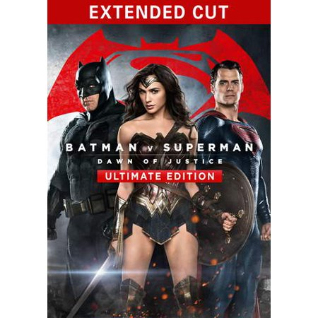 Batman v Superman: Dawn of Justice (Extended - Superman Cut Out