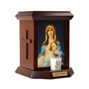The Official Vatican Observatory Foundation Cremation Urn for Human Ashes - Immaculate Heart I