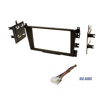 Car Stereo Dash Kit and Wire Harness for Installing a Double Din Radio for 2000 - 2003 Acura CL 1999 - 2003 Acura