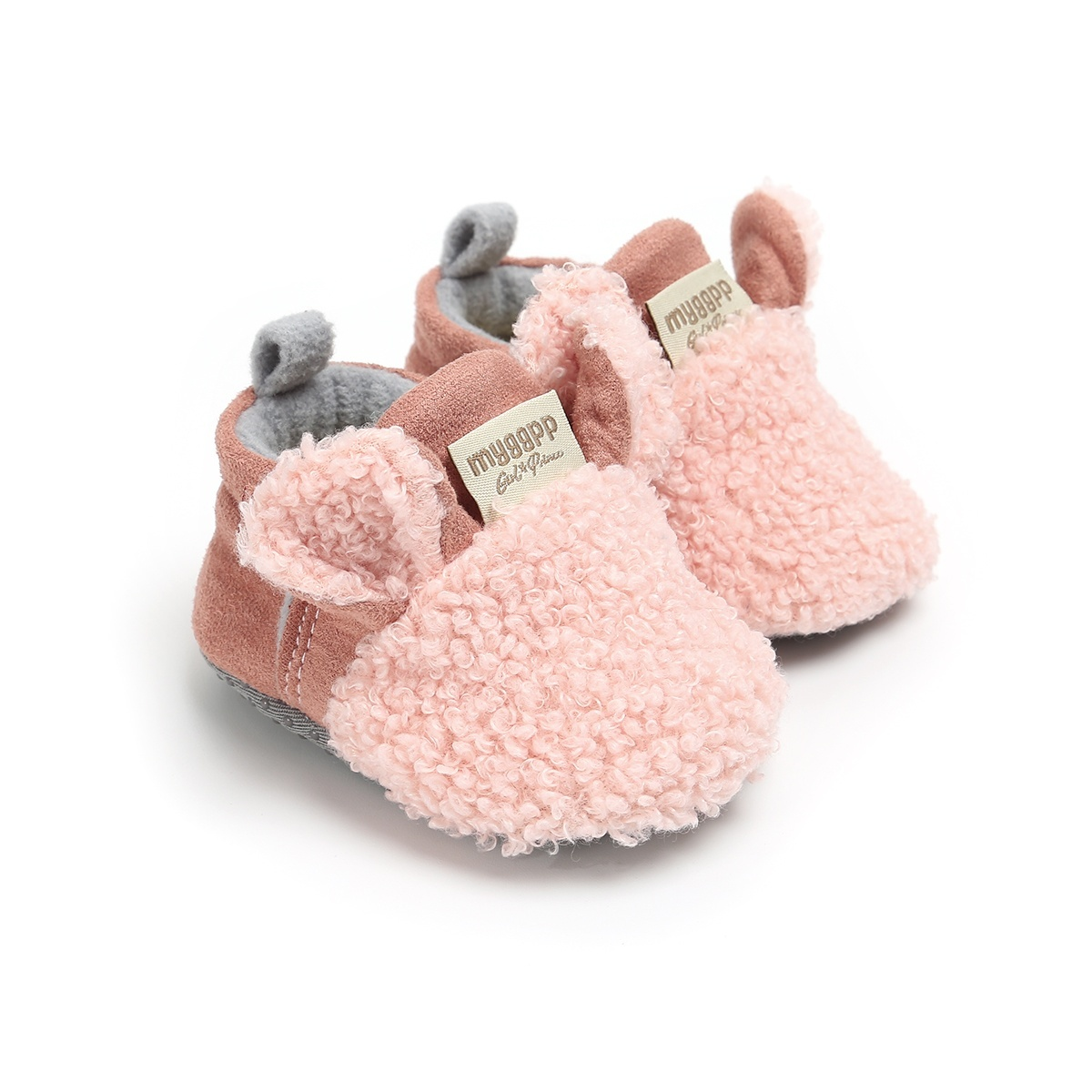 Newborn Baby Booties Boy Girl Crib Pram