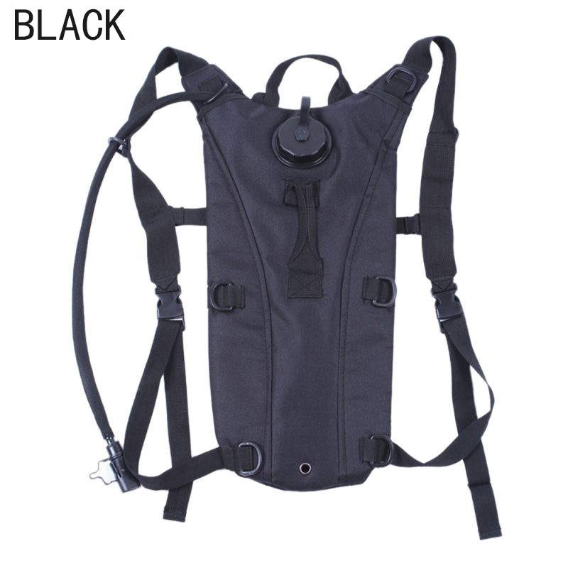 BALIGHT 3L Hiking Hydration Backpack Water Bladder Rucksack Camelbak Pack Outdoor by