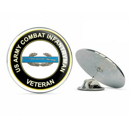 U.S. Army Combat Infantryman CIB 1st Award Veteran Metal 0.75