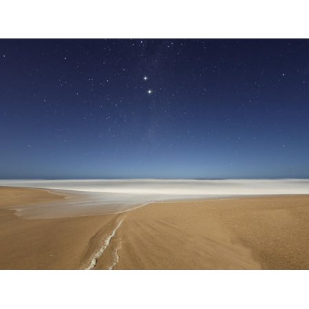 Alpha and Beta Centauri Seen from the Beach in Miramar, Argentina Print Wall Art By Stocktrek