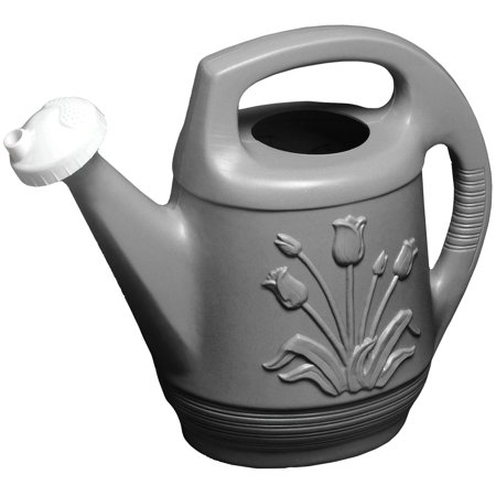 Bloem Promo Watering Can Rotating Duel Nozzle 2 Gallon (799 Peppercorn Two Light)