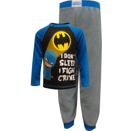 DC Comics Batman I Don't Sleep Toddler Pajamas - I Love Halloween Comics