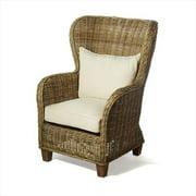 Infinita Wickerworks Natural Rattan King Chair