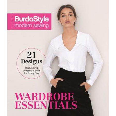 Burdastyle Modern Sewing  Wardrobe Essentials  Includes 21 Designs