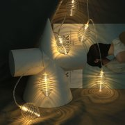 ASky Christmas String Lights Wedding Xmas Party Decor Outdoor Indoor Lamp 1.5m/10 LED