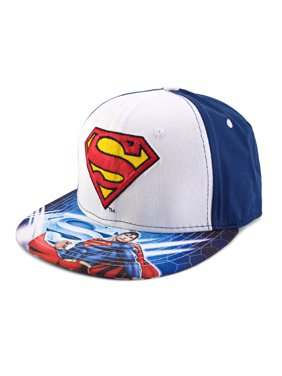 818e36d98c742 Product Image DC Comics Superman Sublimated Logo Snapback Baseball Cap
