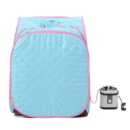 2L Portable Steam Sauna Spa Therapeutic Tent Slim Weight Loss Health Care Slimming Steamer Room Personal Home Winter Gift