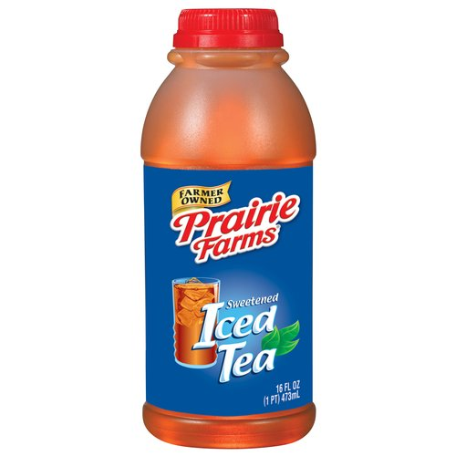Prairie Farms Sweetened Iced Tea, 1 Pint