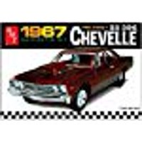 Auto World Round 2 LLC 1:25 Scale 1967 Pro Street Chevy Chevelle Toy Car