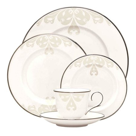Lenox Opal Innocence Scroll 5-Piece Place Setting Monroe Lenox China