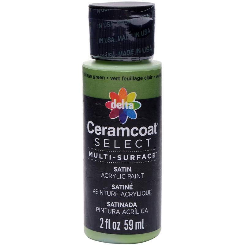 Ceramcoat Select Multi-surface Paint 2oz-foliage Green