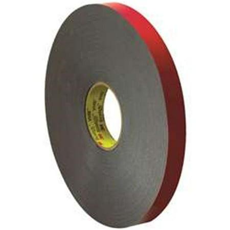 VHB VHB595801R Black #5958FR Adhesive Tape, 1 x 5 - Vhb Adhesive Transfer Tape