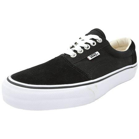 Vans Men s Rowley Solos Black   White Canvas Skateboarding Shoe - 7.5M -  Walmart.com 9d96ea1fc