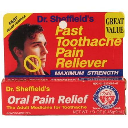 New 300664  Sheffield Adult Oral-Gel .33Z (24-Pack) Cough Meds Cheap Wholesale Discount Bulk Pharmacy Cough Meds 4