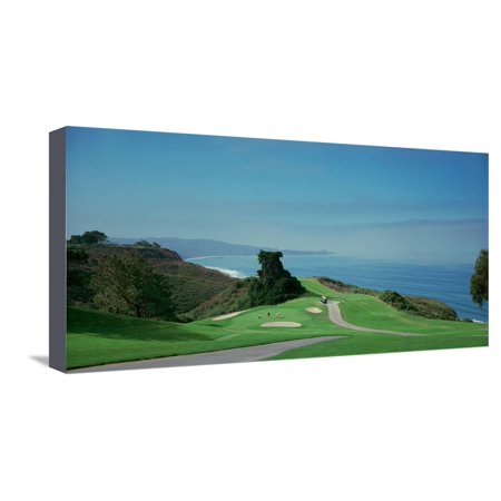 Panoramic Canvas Prints (Golf Course at the Coast, Torrey Pines Golf Course, San Diego, California, USA Stretched Canvas Print Wall Art By Panoramic Images)
