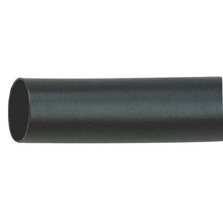 INSULTAB HS-614 1/8 Blk 6 Shrink Tubing, 0.125 In ID, Bl, 6 In, PK 5