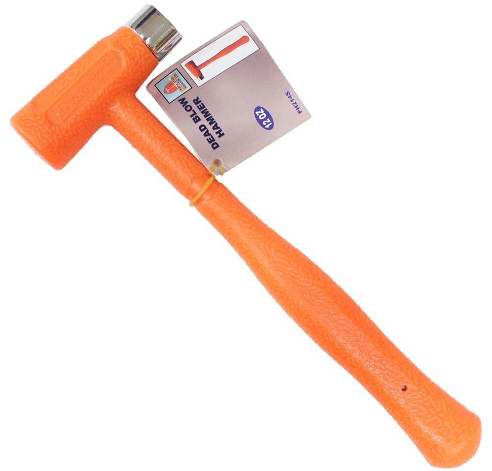Werkzeuge Dead Blow Brass Hammer Polyurethane Construction Leather Or Wood 12 Oz Maybrands Com Ng Dead blow hammer is used in many specialized areas, particularly in automotive applications, such as chassis work and hubcap installation. maybrands