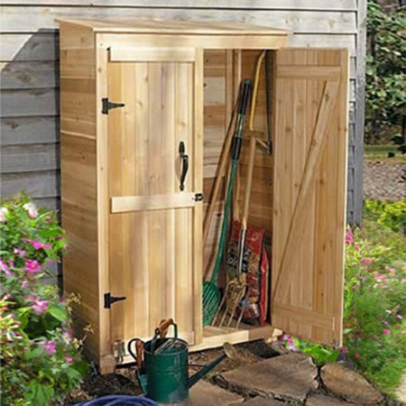 Outdoor Living Today Gc42 Garden Chalet 4 X 2 Ft Tool Shed