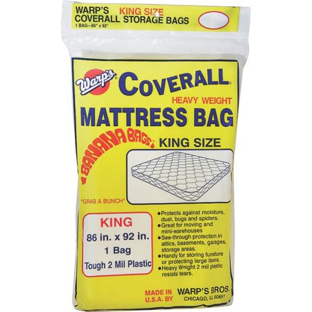 Warps Cb 86 X 92 King Size Banana Bags Mattress Bag