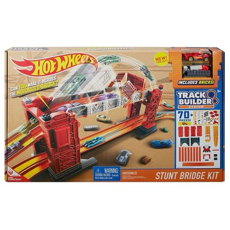 Hot Wheels Track Builder Stunt Bridge Kit