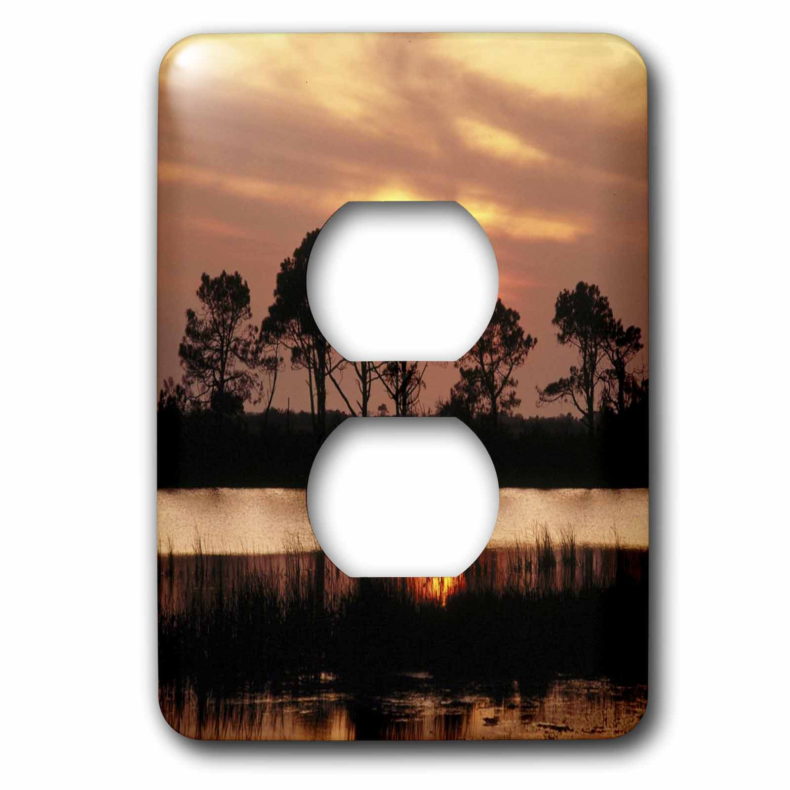 3drose Outer Banks In North Carolina 2 Plug Outlet Cover Lsp 56079 6 Walmart Com Walmart Com