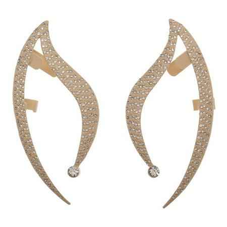 Star Trek Ears (Earrings - Star Trek - Cosplay Ear Cuffs w/Glass Stones New Licensed)