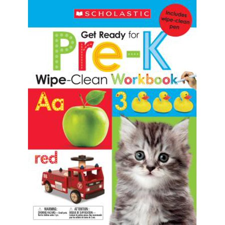 Wipe-Clean Workbook: Get Ready for Pre-K (Scholastic Early Learners) ()
