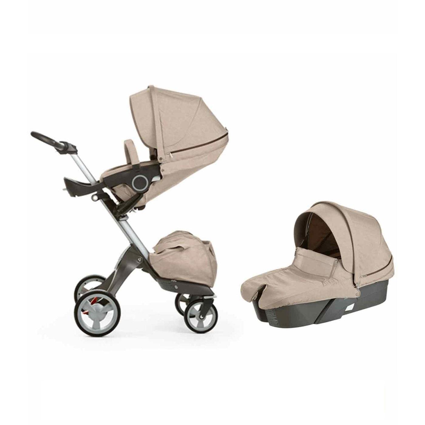 XPLORY V4 Baby Stroller in BEIGE MELANGE