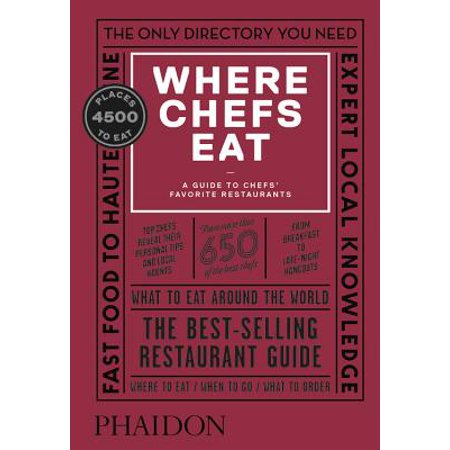 Where Chefs Eat - Hardcover: 9780714875651