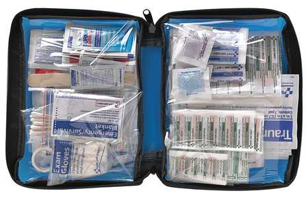 Click here to buy FIRST AID ONLY FAO-432 LAB07 First Aid Kit, Bulk, Blue, 200 Pcs, 25 Ppl by First Aid Only.